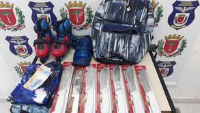 Suspeitos de roubo e de furto são presos no Centro de Curitiba