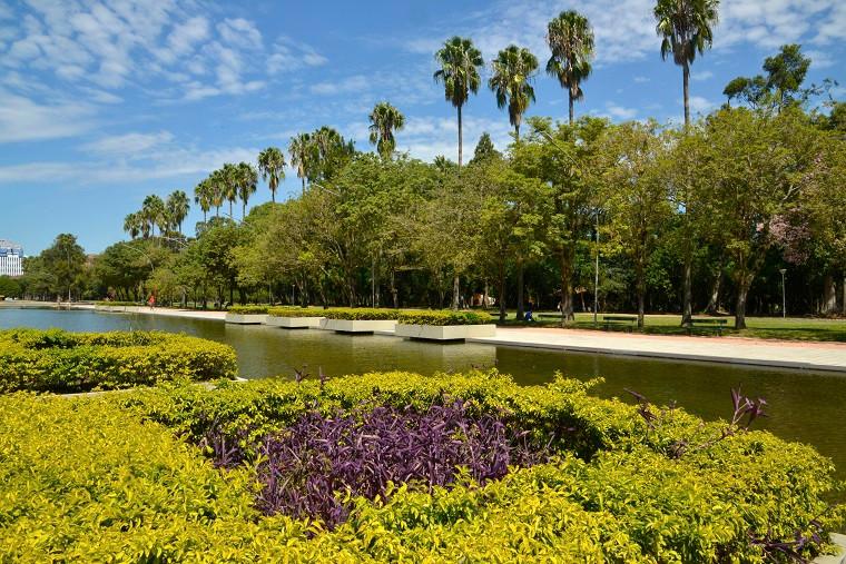 Parque Farroupilha, Porto Alegre (RS). Crédito: Renato Soares/MTur