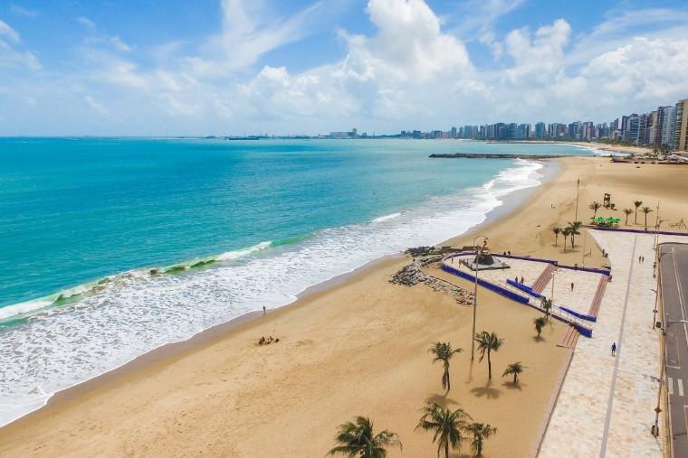 Fortaleza lidera ranking dos destinos mais procurados para os meses de junho e julho na sondagem empresarial do MTur. Crédito: Jade Queiroz/MTur