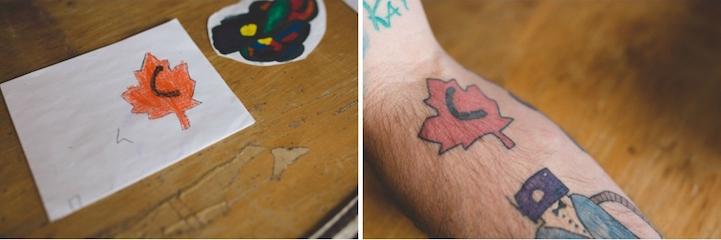 tatuagem paifilho