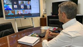 Encontro virtual reúne prefeitos eleitos da Região Metropolitana de Curitiba