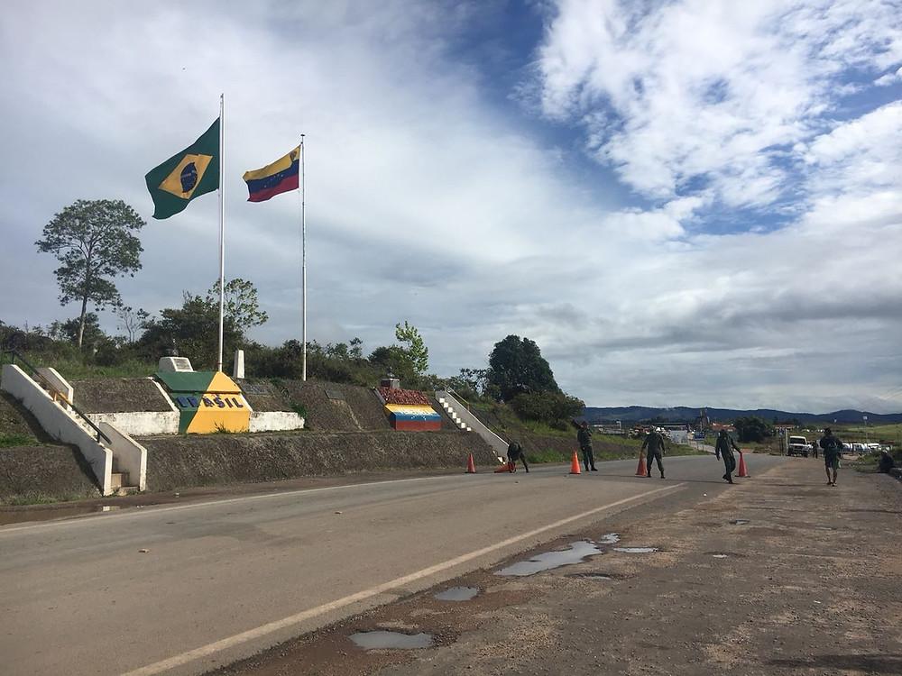 Governo diz que fechamento de fronteira com Venezuela é impensável