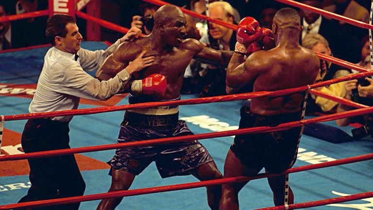 Evander Holyfield comenta sua luta contra Mike Tyson de 1996