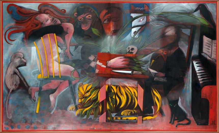 Charles Blackman, pintor figurativo australiano, morre aos 90 anos