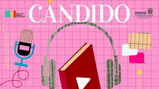Jornal Cândido acompanha a multiplicação dos podcasts literários
