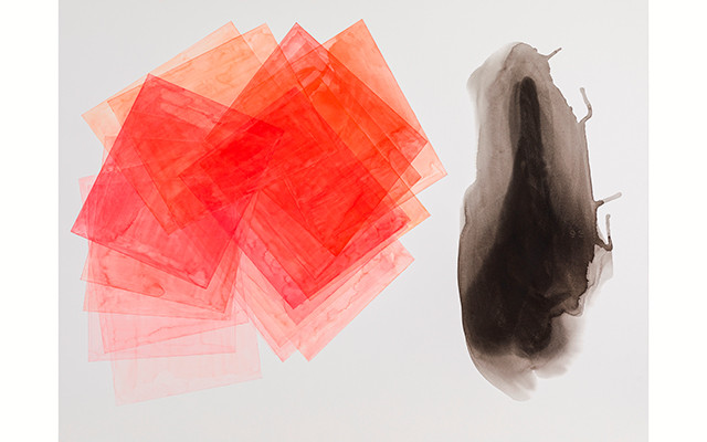 Exposição Aquarelas recentes, Geometria residual de José Nemer