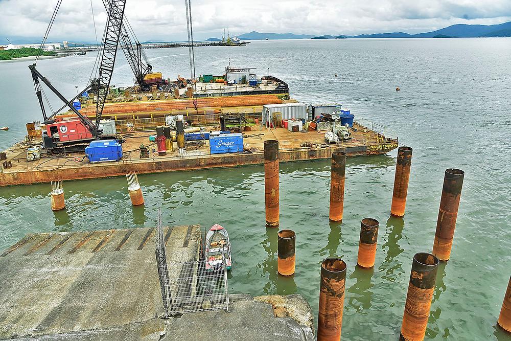 Obra vai triplicar capacidade de exportação do Porto de Paranaguá