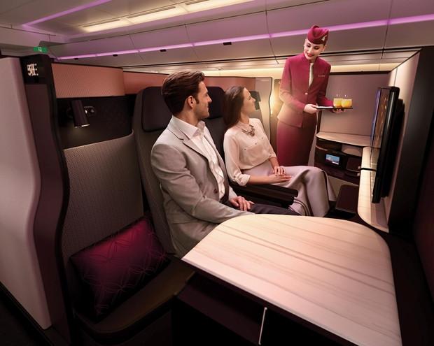 Cresce o número de passageiros brasileiros que optam por voar de Classe Executiva