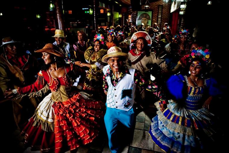 Aracaju (SE) concorre na categoria Música. Na foto, o tradicional forró das festas juninas na capital sergipana. Foto: Roberto Castro/MTur