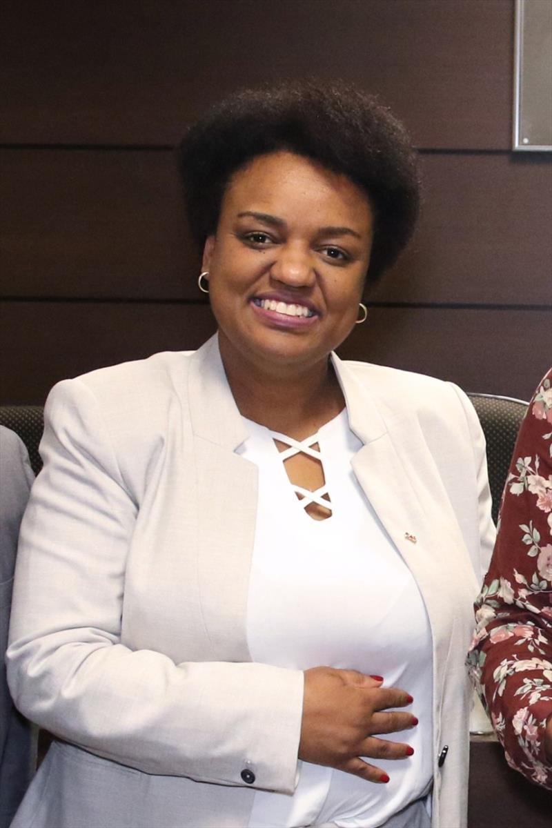 Ações on-line marcam o Dia Internacional da Mulher Negra Latino-Americana e Caribenha. Na foto, Andréia Cândida Vitor, presidente da Comissão de Igualdade Racial da OAB-PR. Foto: Divulgação