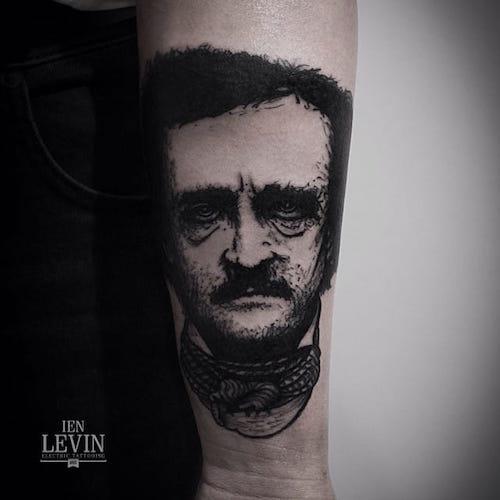 allan-poe-tattoos