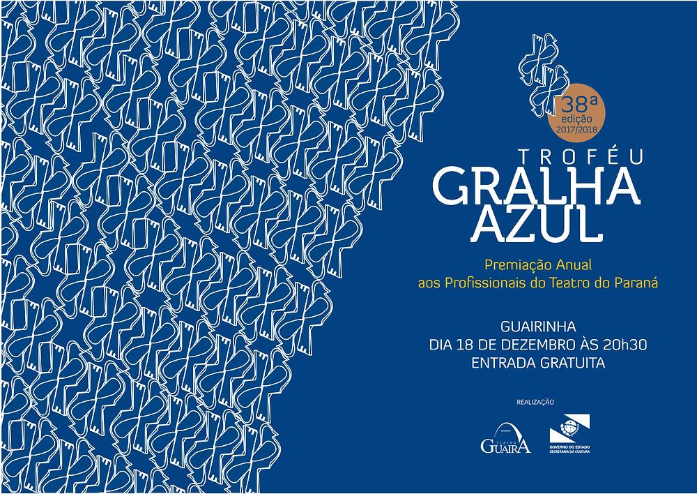 Veja os indicados para 38ª edição do Prêmio Gralha Azul