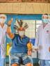 População indígena da aldeia Kakané Porã recebe vacina contra covid-19