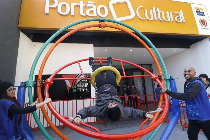 Museu da Vida, da Fiocruz no Portão Cultural. Na imagem, João Lucas da Silva Leal. Curitiba, 06/08/2019. Foto: Lucilia Guimarães/SMCS