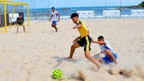 Primeiro Mundial de Futebol de Areia Raiz começa na próxima terça