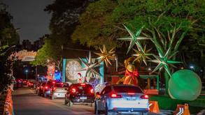 Drive-thru natalino no Barigui passa a ter agendamento on-line
