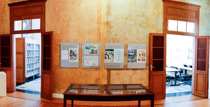 Sala de exposição da Gibite
