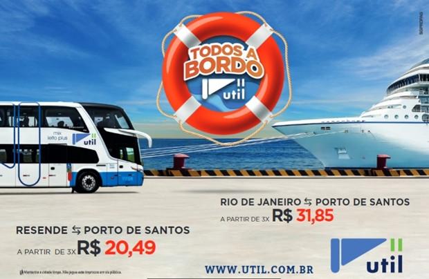 Temporada de Cruzeiros conta agora com transfer rodoviário