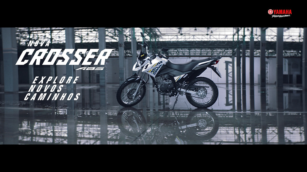 VAPT Filmes produz série de filmes da Yamaha Crosser ABS em campanha da agência Live