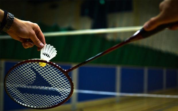 Badminton no Santa Mônica Clube de Campo