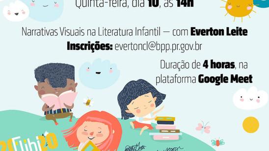 Oficina abordará narrativas visuais na literatura infantil