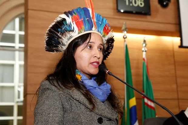 Jornalista indígena usa formação para defesa das comunidades tradicionais