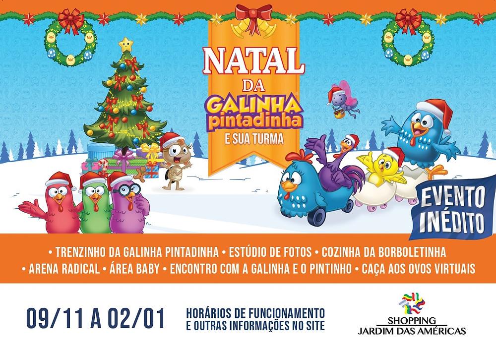 Papai Noel chega dia 09 de novembro no Shopping Jardim das Américas