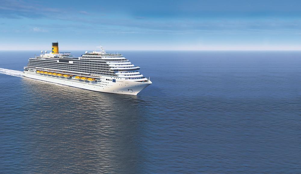 Costa Venezia, primeiro navio da frota dedicado ao mercado chinês, terá cerimônia de nomeação em Trieste, na Itália