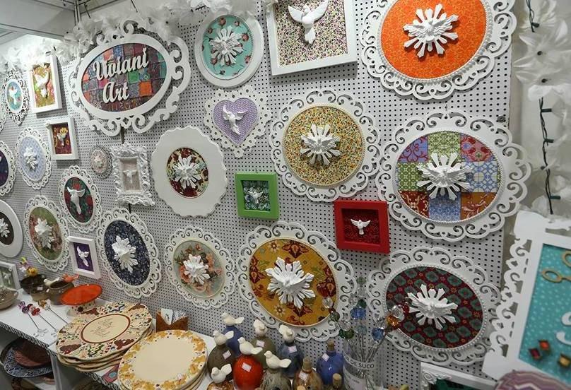 Um dos maiores eventos de patchwork e artes manuais do Brasil em Curitiba