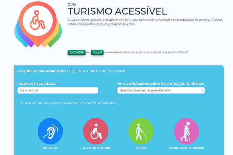 Aplicativo do Programa Turismo Acessível é atualizado