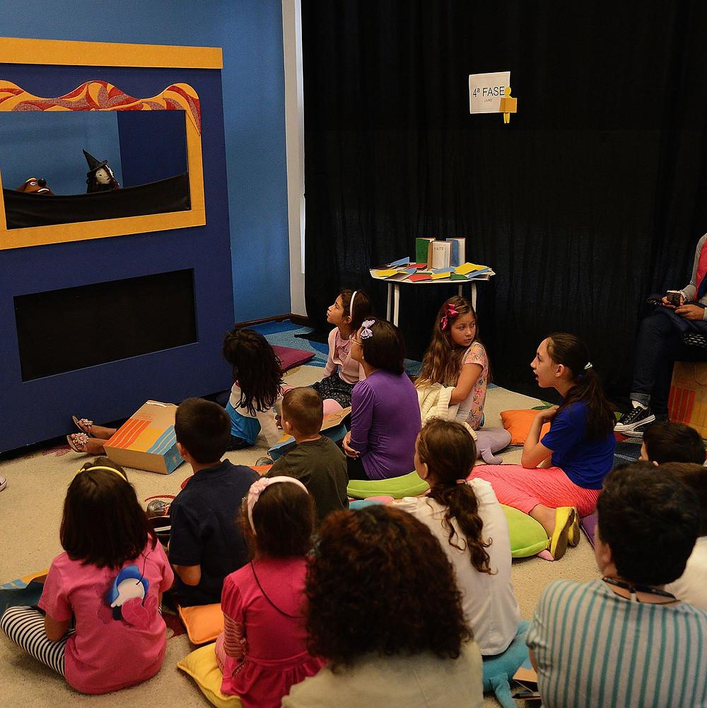 Programação especial para crianças durante as férias na Biblioteca