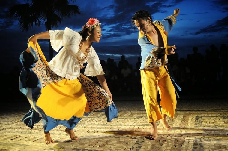 Carimbó, dança típica do folclore paraense. Foto: Everaldo Nascimento/Ag Pará