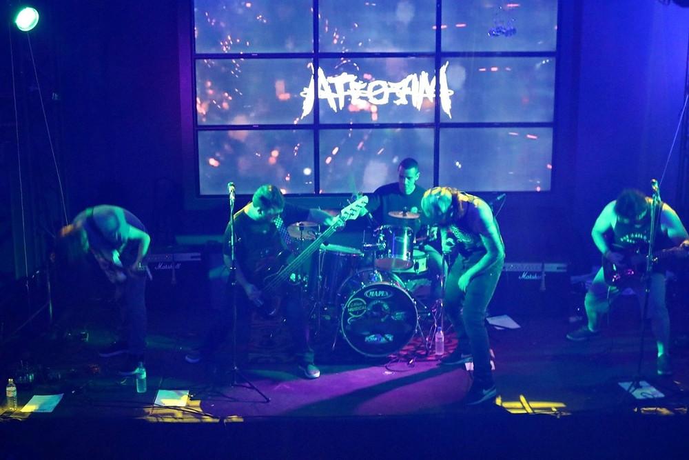 Banda Até o Fim lança novo single chamado Afronta