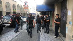 Guardas e policiais fazem nova ação em hotéis do centro