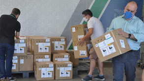 Estado cede monitores para equipar leitos em Curitiba