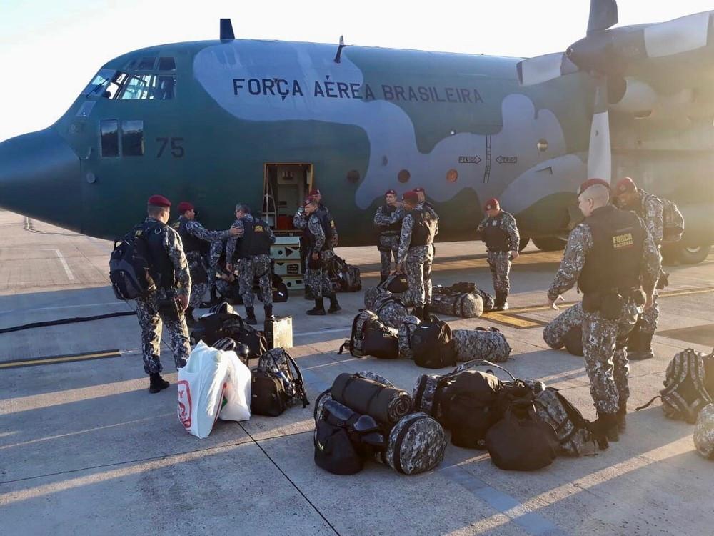 Governo federal envia reforço da Força Nacional para Roraima