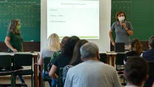Escolas estaduais orientam pais e alunos sobre ensino híbrido