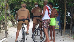 Comerciantes e turistas aprovam policiamento preventivo na Ilha do Mel