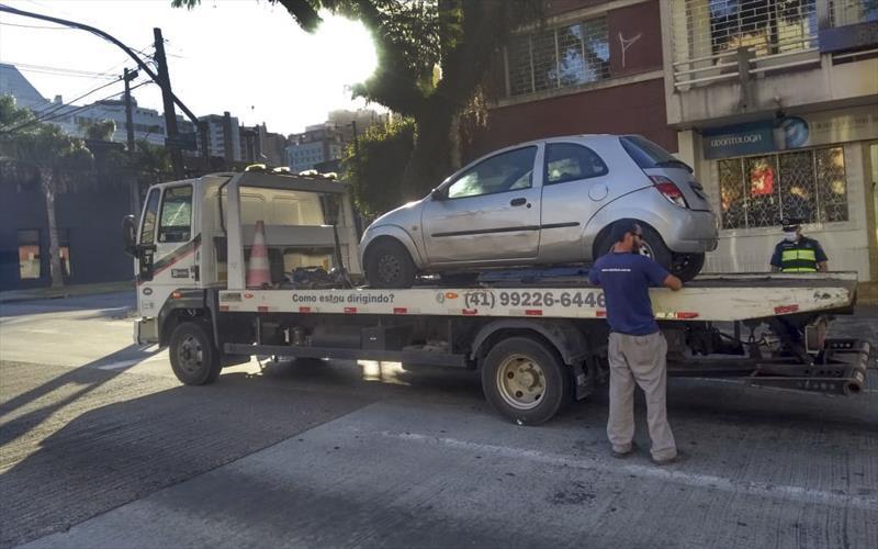 Fiscalização de trânsito encontra foragido da Justiça. Foto: Divulgação