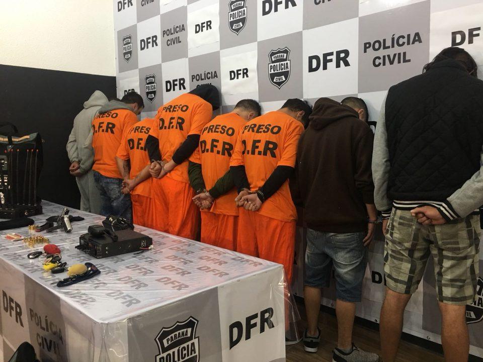 Quadrilha de roubo de carga é presa em Curitiba