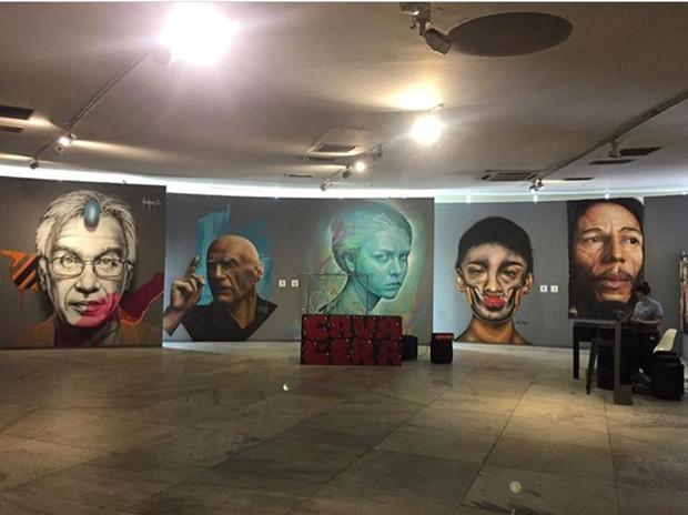 Bienal Internacional Graffiti Fine Art no Memorial da América Latina em sua 4° Edição