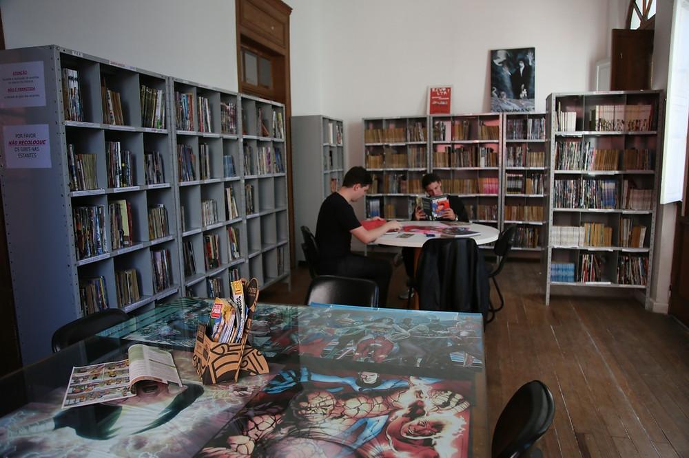 Gibiteca de Curitiba oferece cursos e oficinas para 2019