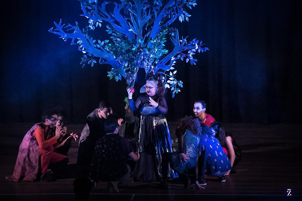 Coletivo Inclusão em duas apresentações no Teatro Zé Maria