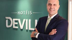 Rede de Hotéis Deville anuncia novo Diretor de Marketing e Vendas