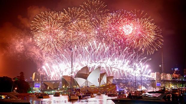 Cinco lugares pelo mundo para passar a virada do ano