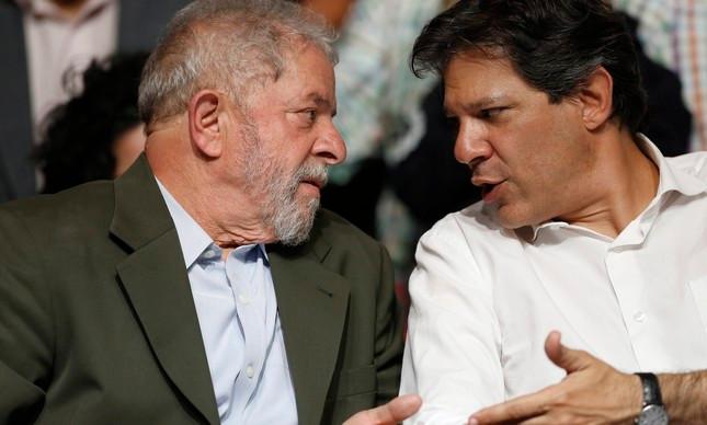 PT registra candidatura de Lula nesta quarta-feira