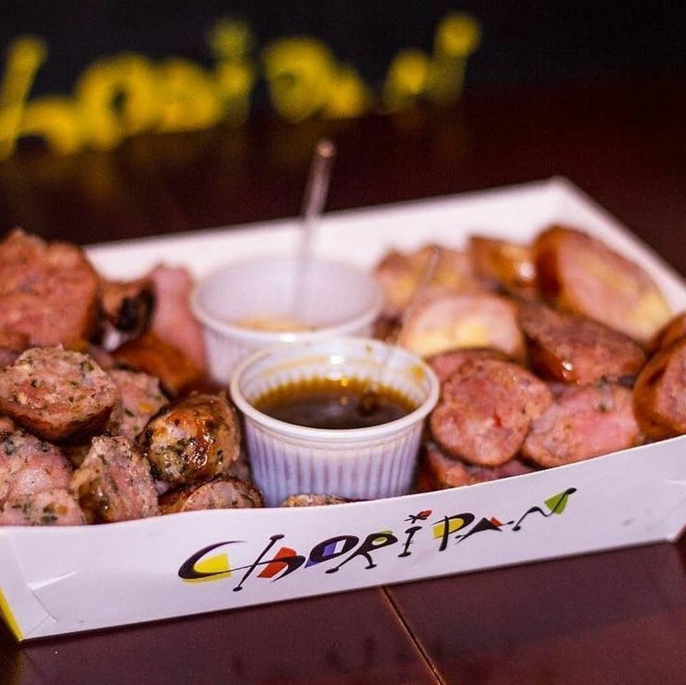Choripan participa do Gastro Fest com mix de linguiças recheadas