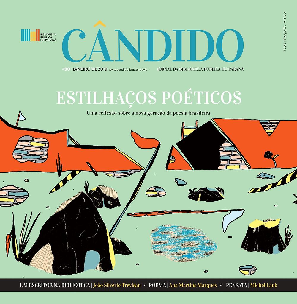 Nova geração de poetas brasileiros é destaque da edição de janeiro do Cândido