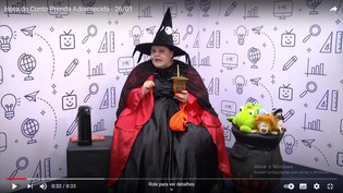 Segunda é dia de história contada por bruxas da Casa Encantada