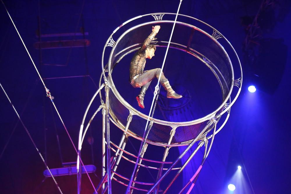 Circo Rhoney estreia no Parque Náutico, novo espaço da Praça do Circo